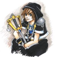 KH2: Sora in the Hood by The-Z