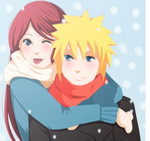 Minato and Kushina Marry Christmas by kisi86