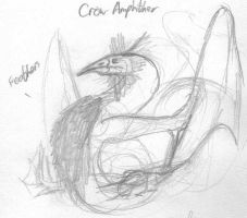 Crow Amphithere by ShattenWolf