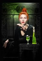 The Absinthe Drinker by Wagner