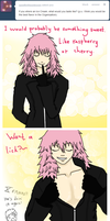 Marluxia flavored ice cream! by Kozekito