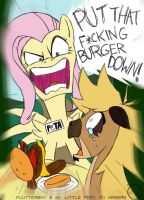 ANGRY PeTA Pony... Colored by Arbok-X