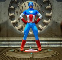 Cap America second skin textures for M4 by hiram67