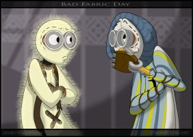 9: Bad Fabric Day by Jenny-Jen
