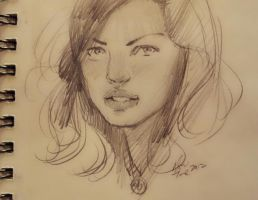 daily sketch 610 by nosoart