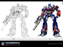 Optimus Prime by eyLLaz