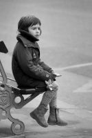 kid in paris... by thruDeye