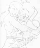 HAPPY BIRTHDAY Temarigurl pt 2 by peppermix14