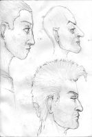 Face Sketches by RalphTart