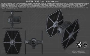 TIE/GT Fighter ortho [New] by unusualsuspex