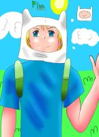 Finn the Human by ZzZNelliezZz