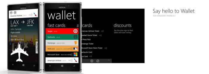 Windows Phone 8.1 Wallet Concept by Ohsneezeme