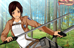 Attack On Titan OC: Daniel Feld by PandaAnimeGirl