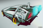 back to the future by RickSIC