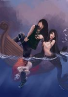 Ballad of the Wicked Sea by oshirockingham