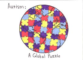 Autism: A global Puzzle by AlxBlack17