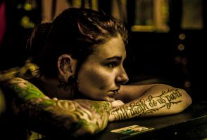 Tattoo Protrait by dennissloan21