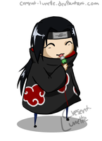 Chibi - Itachi by cresent-lunette