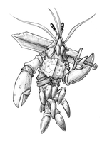 Lobster Knight by Relentless666