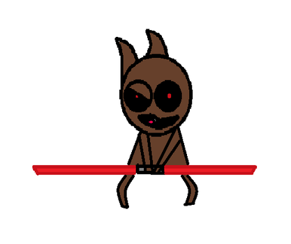 Squirrel Sith by Okotomu