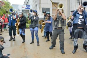 2014 Honk Festival, Chaotic Noise 6 by Miss-Tbones
