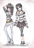 Fashion Mimes by Ryo-ohki24