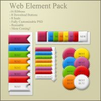 Web Element Pack by ryanbdesigns