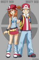 Pokemon FireRed Trainers by jczala