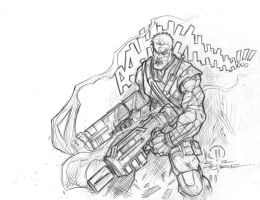 Cable sketch by JoeyVazquez