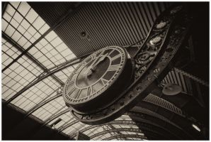 York Railway Clock by StevenJames1982
