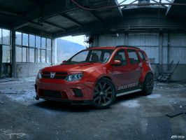 Dacia Duster Tuning 18 by cipriany