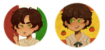 spamano buttons by romaohno