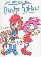 The Girls of the Freedom Fighters by Piplup88908