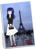 Hinata - Paris by CamillaBB