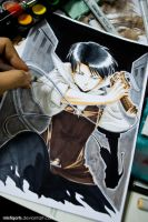 A choice with no regrets young Levi by Mistiqarts