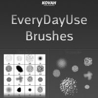 every-day-use Brushes by theKovah
