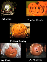 Pumpkin Carving - Lenore by MoonSpider95