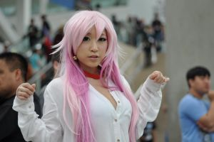Anime Expo 2013 : Faces of Cosplay_1028 by JuniorAfro