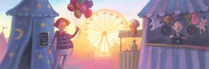 welcome to the Fun Fair by Bakenius