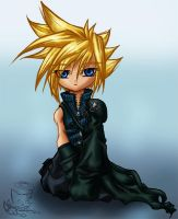 chibi Cloud by tailschao