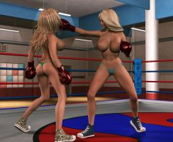 Presley vs Sloan 2nd right jab by veryoldoldold