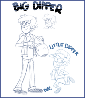 Big Dipper Little Dipper by PumpkinHipHop