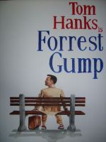 Forrest Gump Poster Painting by Black-Hart