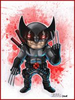 LIL Dude Wolverine COLORED by MARR-PHEOS