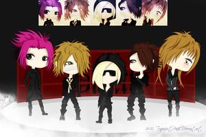 The GazettE - Vortex by TrapnestPink