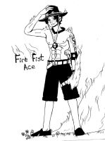 Fire Fist Ace by murader191