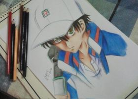 Echizen Ryoma - Prince of Tennis by Amer97