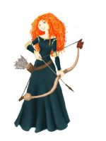 MERIDA by chubbychan13