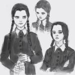 Wednesday Addams by medders