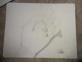 gesture 1- 2B pencil by sunfoot